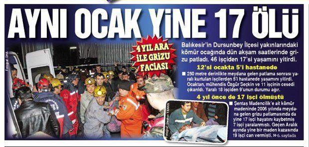 Türkiye ve Dünya'da Maden Kazaları 2