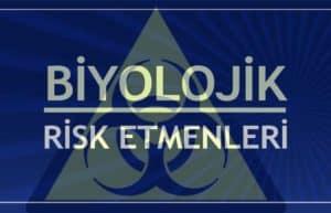 Biyolojik Risk Etmenleri 4