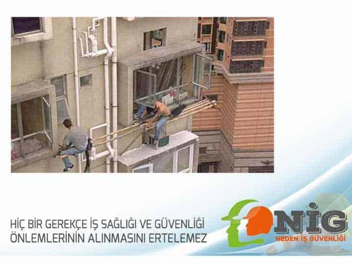 Yapı Alanlanlarında Alınması Gereken Asgari Güvenlik Önlemleri