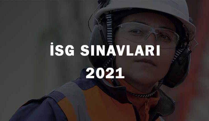 2021 Yılı İSG Sınavları