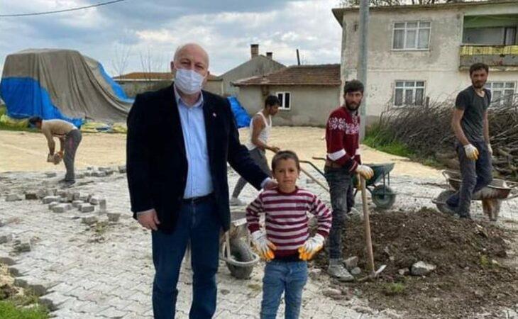 """Çocuk işçiyi """"Yaşar Usta"""" olarak tanıttı!"""