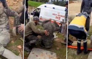 İş Kazasında Yaralanan İşçinin Kıyafetleri Ambulans Kirlenmesin Diye Çıkarıldı