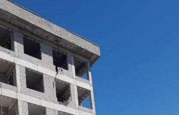 Kayseri'de sıvacı, inşaattan düştü 5