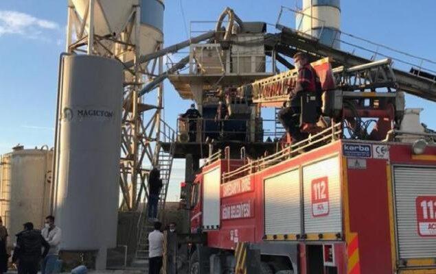 Iğdır'da iş cinayeti: Beton mikserine sıkışan işçi hayatını kaybetti