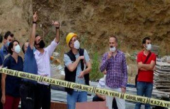 Denizli'de inşaattan düşen işçi yaşamını yitirdi! 9