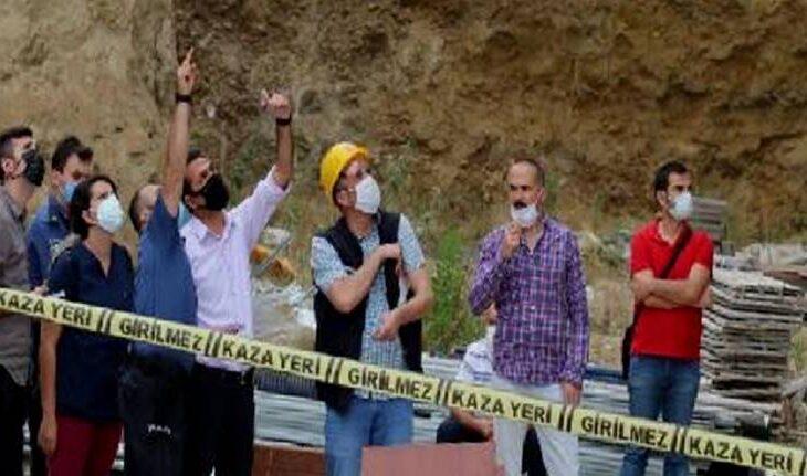Denizli'de inşaattan düşen işçi yaşamını yitirdi! 1