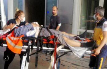 İnşaattan düşen demir ustası yaralandı 2