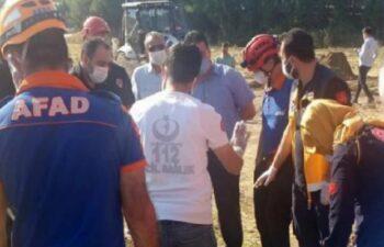 Kahramanmaraş'ta göçük altına kalan işçi öldü 7