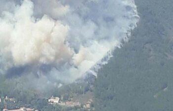 Marmaris'te orman yangını: 1 işçi hayatını kaybetti 7