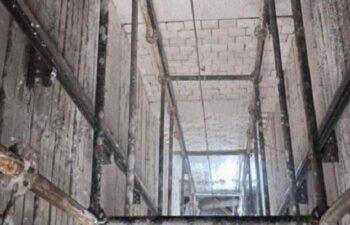 Sivas'ta iş cinayeti: Asansör boşluğuna düşen işçi öldü