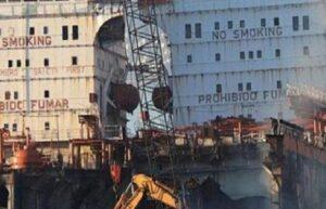 Aliağa'da iş cinayeti: Gemi söküm bölgesinde iş kazası: 1 ölü, 1 ağır yaralı