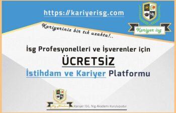 Ücretsiz Kariyer İSG Platformu