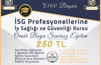 Online İSG Eğitimleri Başladı 1