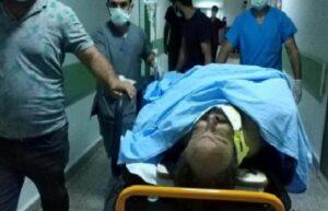 Samsun'da 6. kattan düşen işçi ağır yaralandı 1