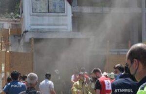 Beyoğlu'nda bir inşaatta yangın çıktı: 1'i ağır 6 işçi yaralı 3