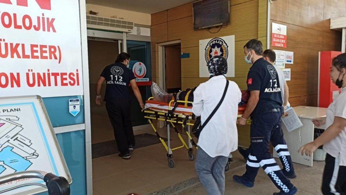 Bursa'da tekstil fabrikasında çalışan kadın işçi yaralandı 3
