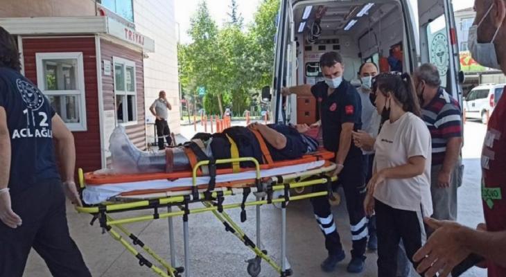 Bursa'da tekstil fabrikasında çalışan kadın işçi yaralandı 1