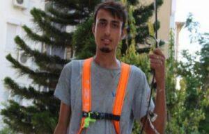 Kardeşiyle mahsur kaldığı iskeleden emniyet kemeri sayesinde kurtarılan işçi, iş güvenliğine dikkati çekti 2