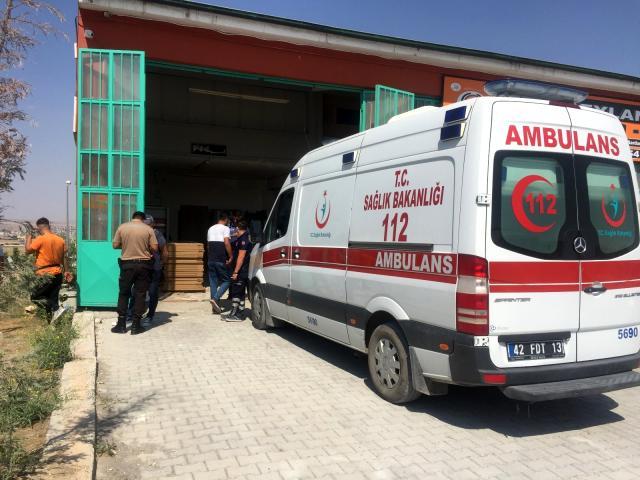 Konya'da 55 yaşındaki Kader Alptuğ iş yerinde dinlenirken ölü bulundu