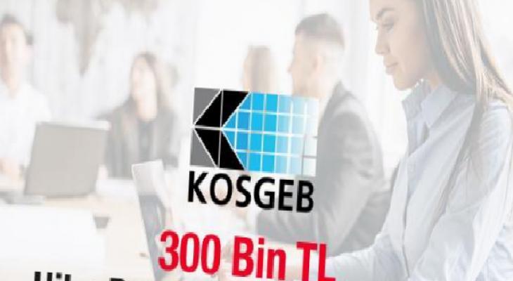 KOSGEB'in 300 bin TL geri ödemesiz hibe desteği başladı! 7