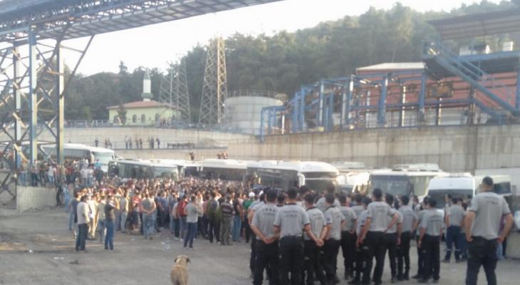 Soma'da bin 500 madenciden mobbing eylemi 12