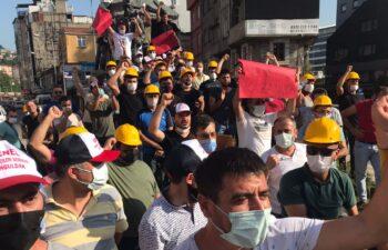 Zonguldak maden işçilerinden 'düşük ücret' protestosu 7