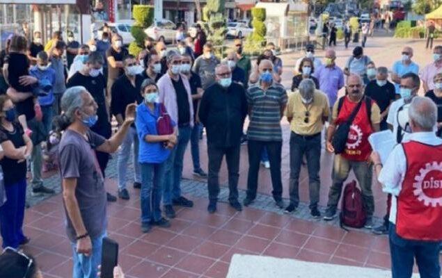 """Aliağa'daki iş cinayetleri protestosu: """"Hesap sormayanlar da suçludur"""" 3"""