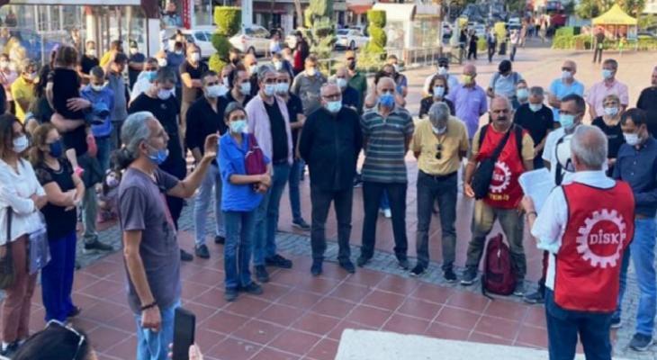 """Aliağa'daki iş cinayetleri protestosu: """"Hesap sormayanlar da suçludur"""" 13"""