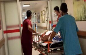 Bursa'da çatıdan düşen işçi ağır yaralandı 3
