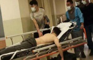 İnegöl'de fabrikada üzerine asit dökülen işçi yaralandı 1