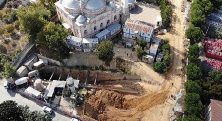 İstanbul'da iş cinayeti: Metro inşaatında göçük: 1 ölü,1 yaralı 1