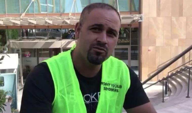 Rönesans Holding'te ücretini alamayan inşaat işçileri eyleme başladı 4
