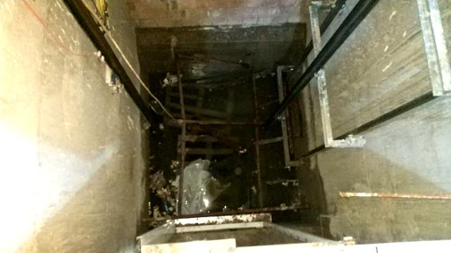 Samsun'da asansör boşluğuna düşen işçi ağır yaralandı 2