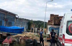 Sinop'ta iş cinayeti: Zeynel Acar, kereste boşaltırken düşerek hayatını kaybetti 2