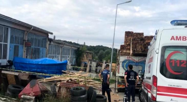 Sinop'ta iş cinayeti: Zeynel Acar, kereste boşaltırken düşerek hayatını kaybetti 1