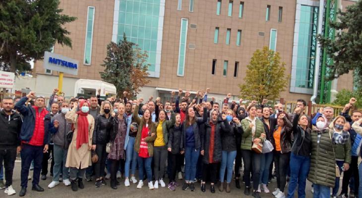 Mitsuba Otomotiv Fabrikası'ndaki eylem sonlandı 10